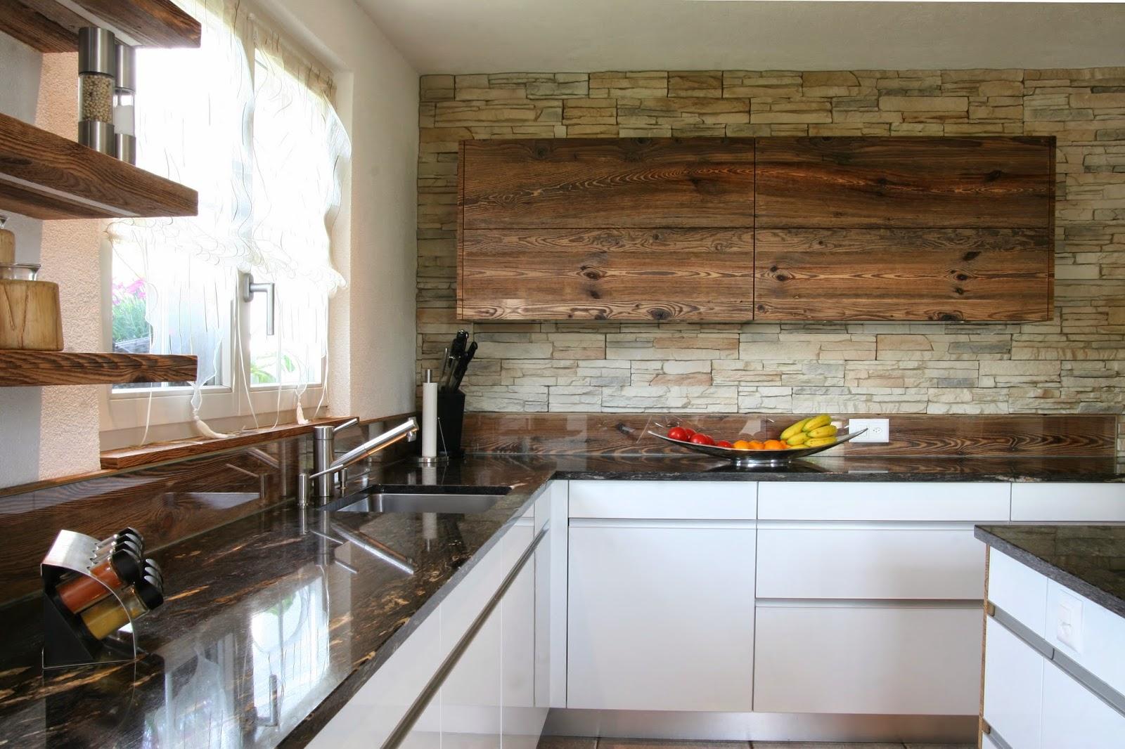 Küchenblog: Küche mit Altholz