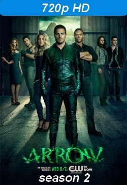poster de la serie Arrow season 2 720p hd