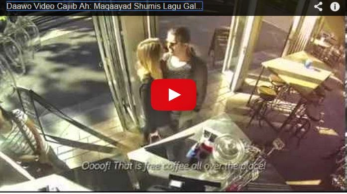 Daawo Video: Maqaayad Shumis Lagu Galo Oo Aan Lacag La Bixineyn