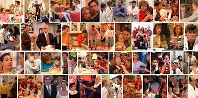Fotogramas de la serie de Telecinco Médico de familia