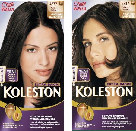 Palette Renk Kataloğu Koleston Renk Kataloğu Saç Açma Boyama Ve