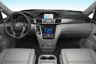 2014 Honda Odyssey Minivan Interior