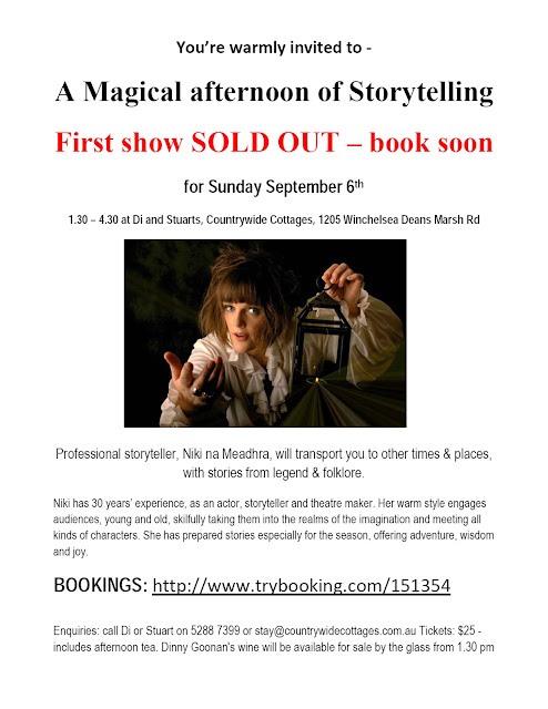 Storytelling online bookings