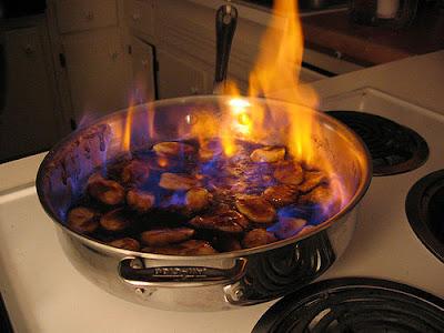 Flamear or quemar?