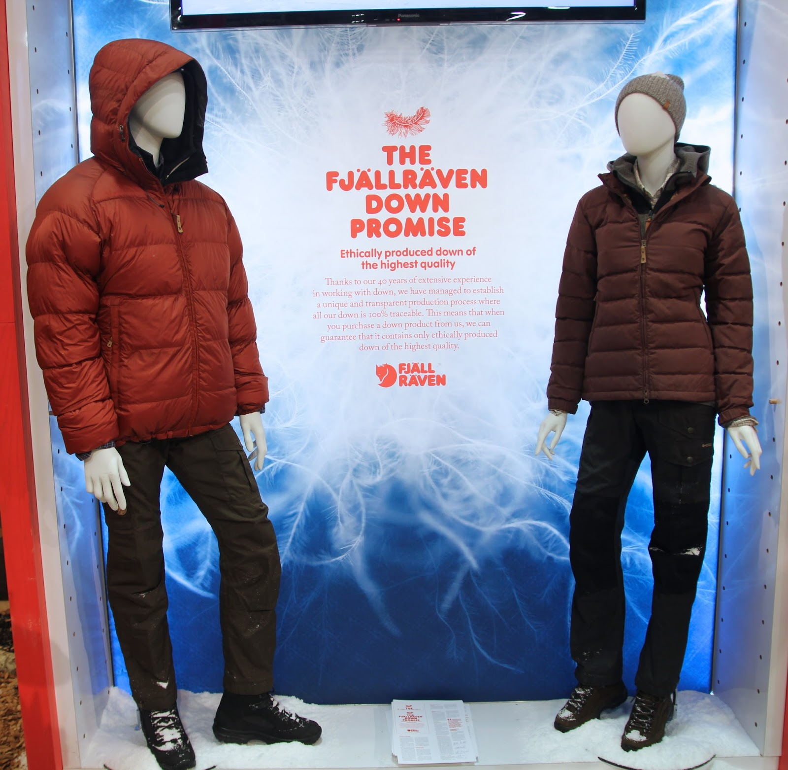 bb1258a2eb The Fjallraven Promise -ethically produced down of the highest quality
