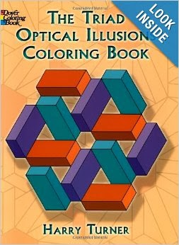 The Triad Optical Illusions Coloring Book (Dover Design Coloring ...