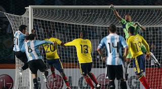 Desempeño de los jugadores colombianos ante Argentina