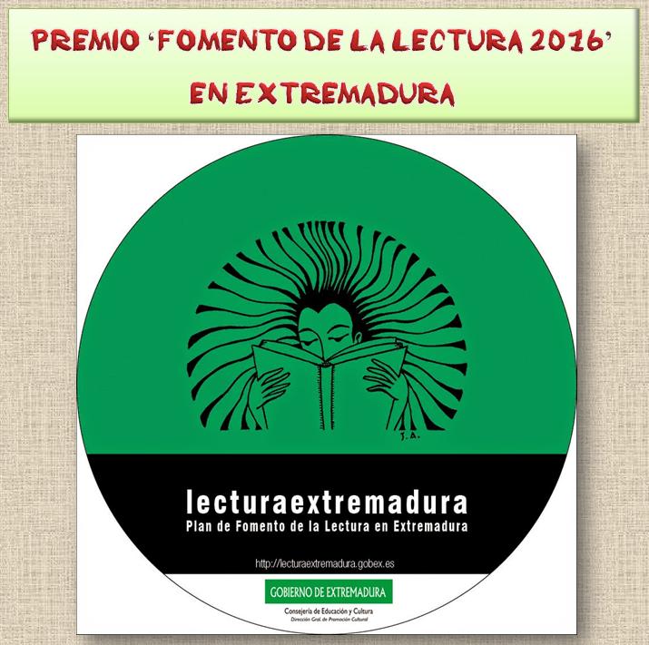 Premio Fomento de la lectura 2016