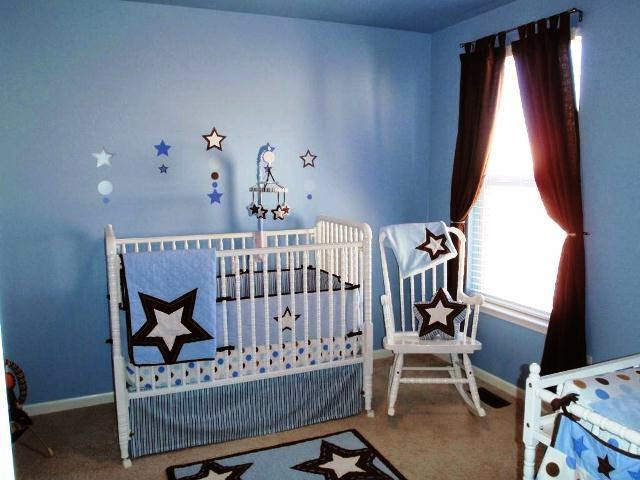 wall painting for baby boy room