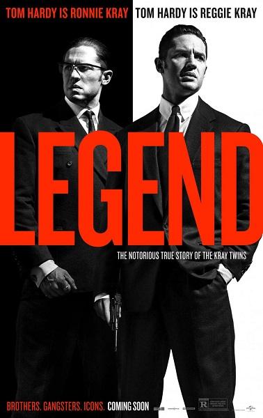 Film Legend 2015 di Bioskop