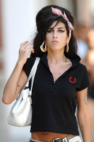 Amy Winehouse for Fred Perry | Trendy Zahra