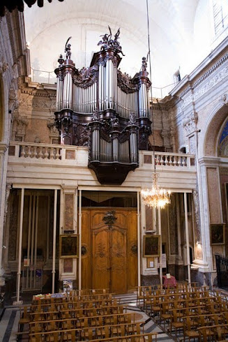L'orgue de la Basilique N. Dame des Tables à Montpellier