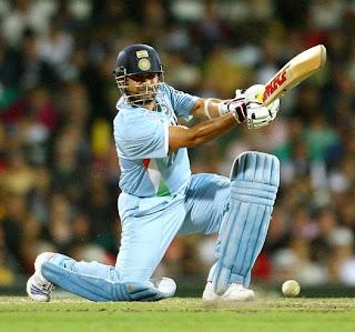 God of cricket Sachin Tendulkar Playing