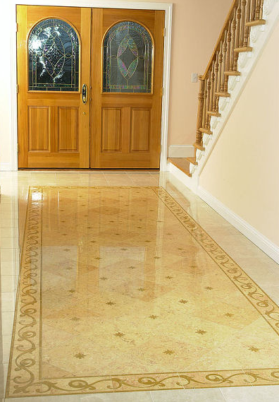 Foundation dezin decor natural stone polished floor for Floor and decor tile class