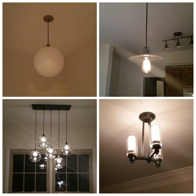 new lighting fixtures