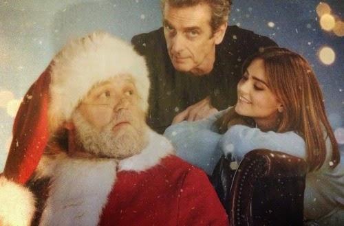 Postal de navidad de Doctor Who