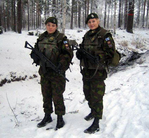 Hot Girls in the Military