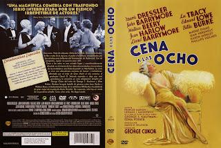 Cena a las ocho (1933 - Dinner at Eight) - Caratula