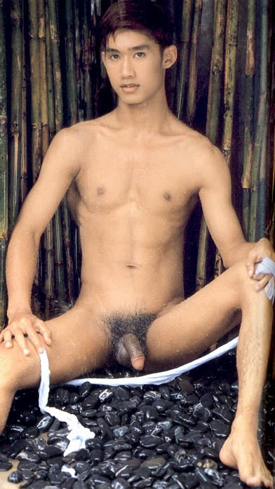 nude Thai male