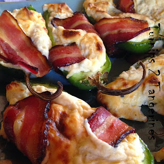 Jalapeno Poppers Wrapped in Bacon from Turnips 2 Tangerines