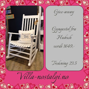 "Give away hos ""Villa-nostalgi"""
