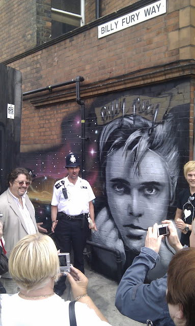 Billy Fury Way officially opens