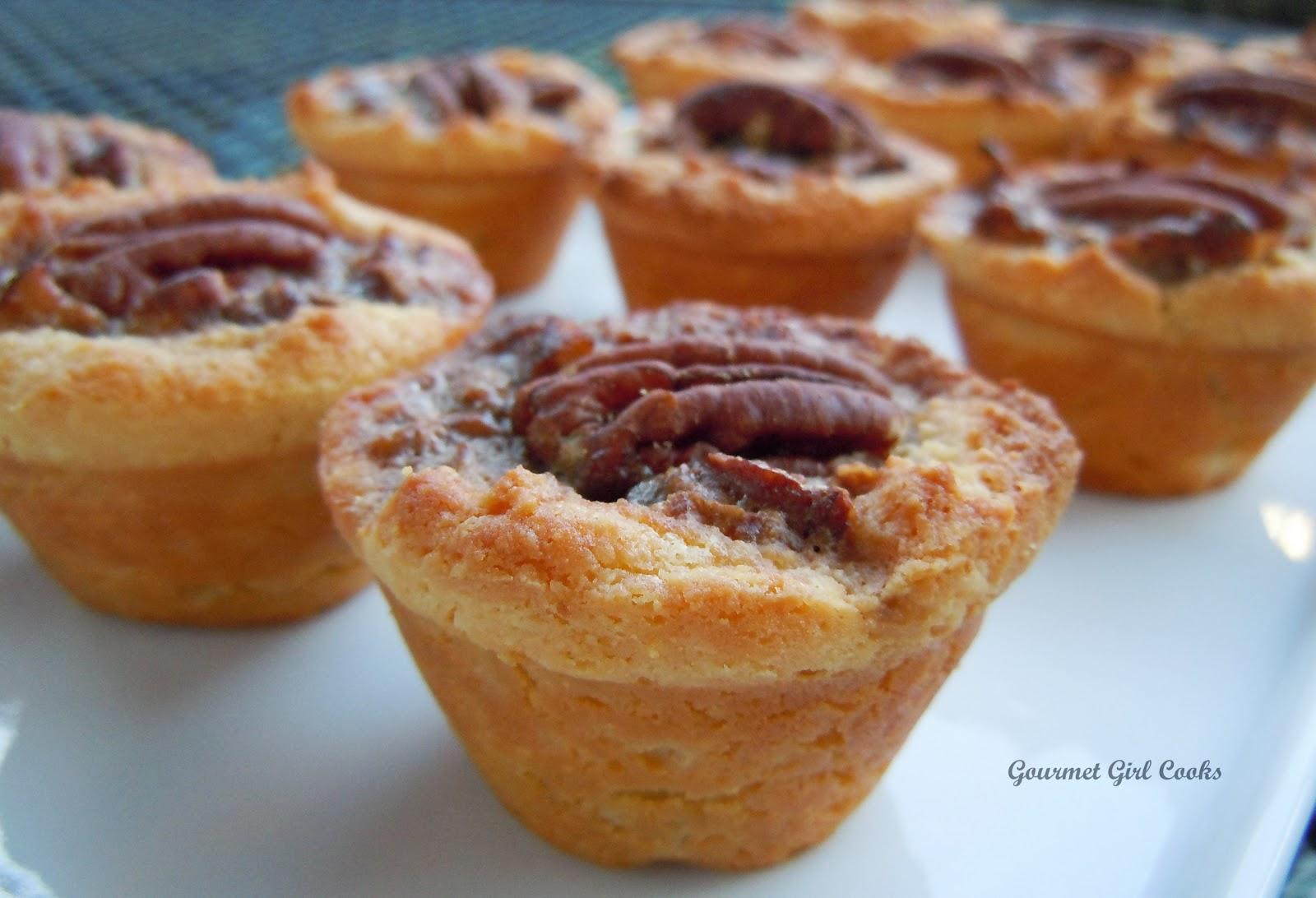 Gourmet Girl Cooks: Pecan Tassies (Mini Pecan Tarts ...