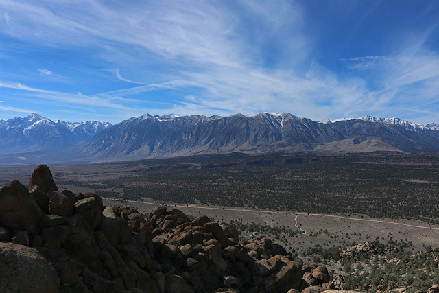 Sierra and Owens River Gorge