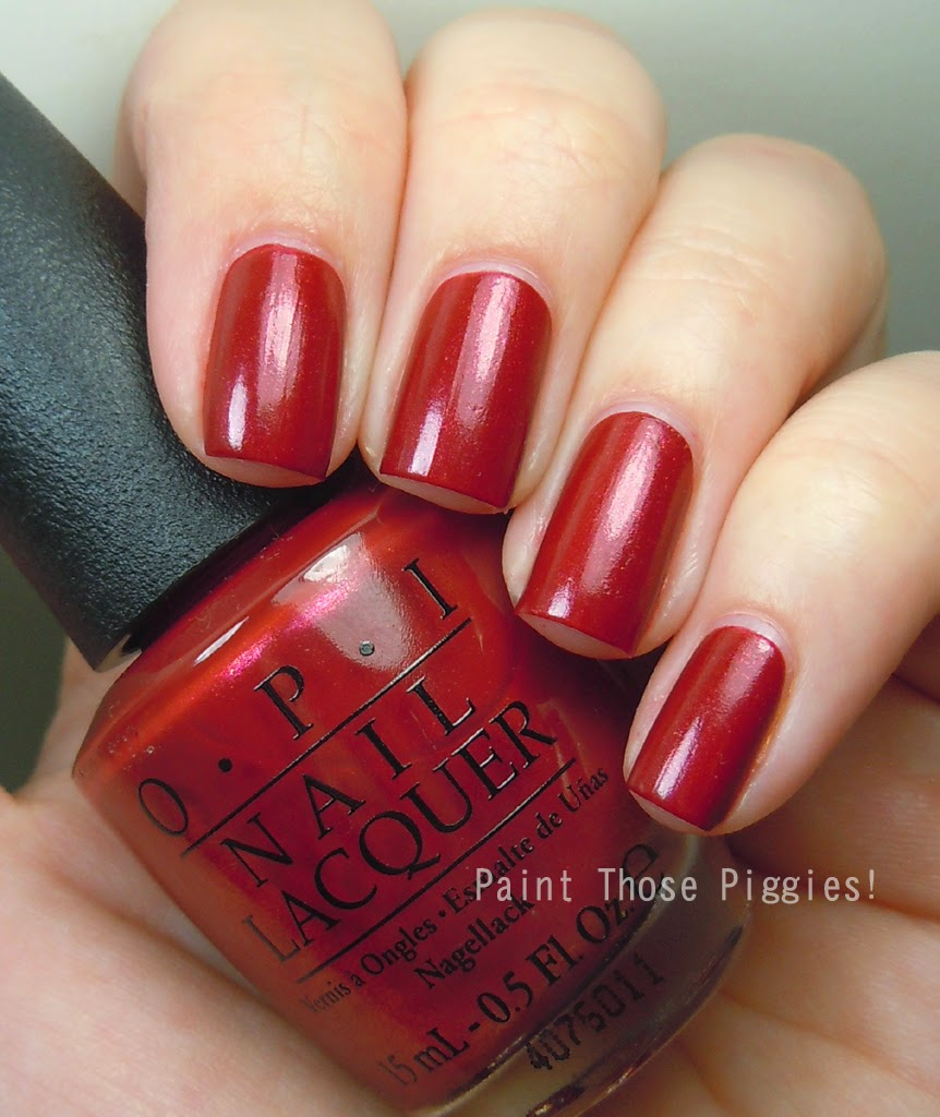 Opi Color To Diner For Paint Those Piggies!: ...