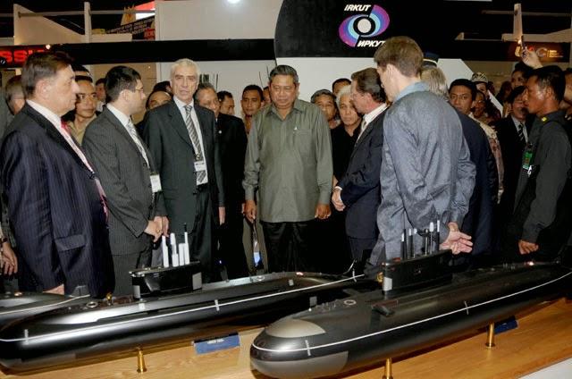 TNI Pertimbangkan Beli Kapal Selam Kilo yang Baru