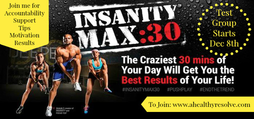 Exclusive Insanity Max30 Test Group