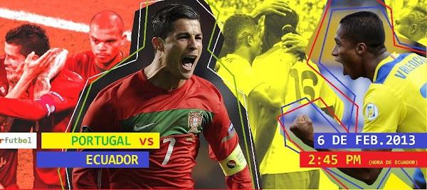 InfoDeportiva - Informacion al instante. SELECCIONES PORTUGAL VS ECUADOR. Horarios, Resultados, Estadisticas, Online