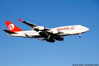 Boeing 747 / EC-LNA