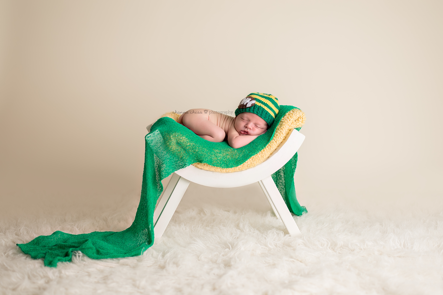 eugene springfield or newborn photography go ducks green and yellow