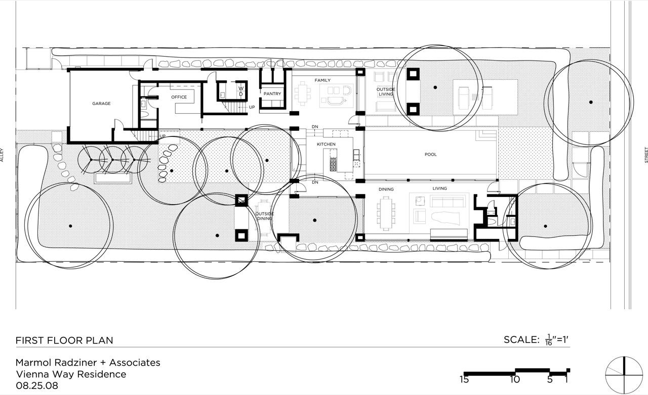 Farnsworth House Floor Plan Tattoo