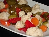 Traditional Greek Pickles - Toursi - Recipe