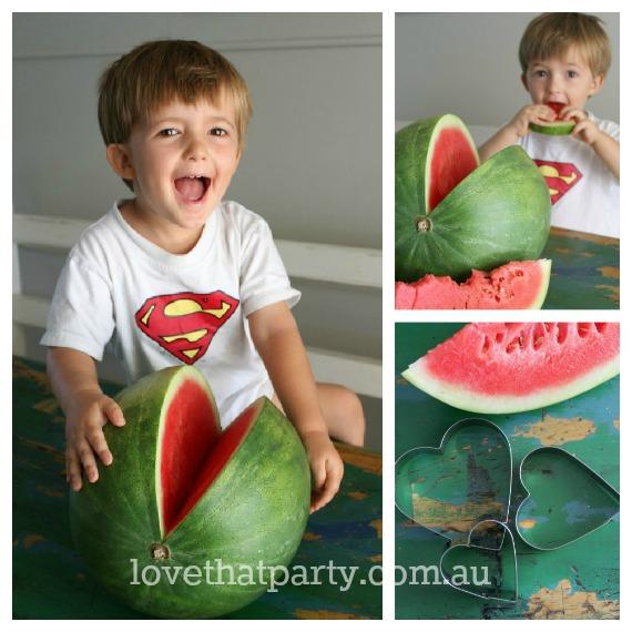 Valentine's Day Breakfast Watermelon Smoothie @ Love That Party