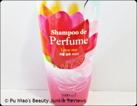 Elastine Shampoo De Perfume Love Me