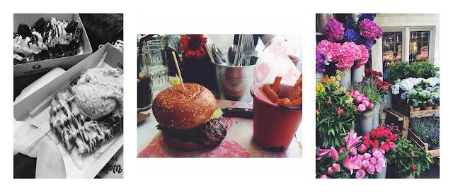 wafflemeister liverpool street station bills restaurant burger the liberty london flowers