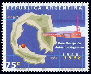 Argentina Base Decepcion Stamp
