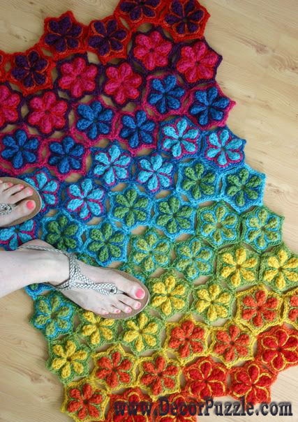 Fashionable bathroom rug sets and bath mats 2018 - Designer bathroom rugs and mats ...