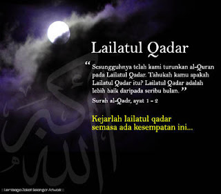 Tanda tanda datangnya malam Lailatul Qadar