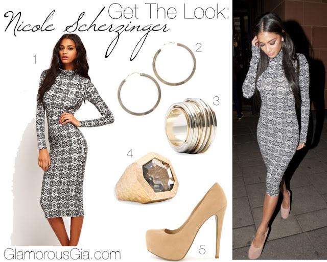 Get The Look: Nicole Scherzinger ASOS dress