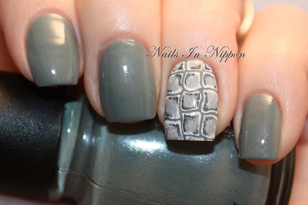 nails in nippon alligator crocodile