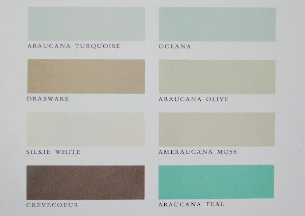 Beau Martha Stewart Paint Color Chart