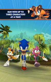 Sonic Dash 2: Sonic Boom v0.1.6 Mod