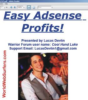 easy adsense profit