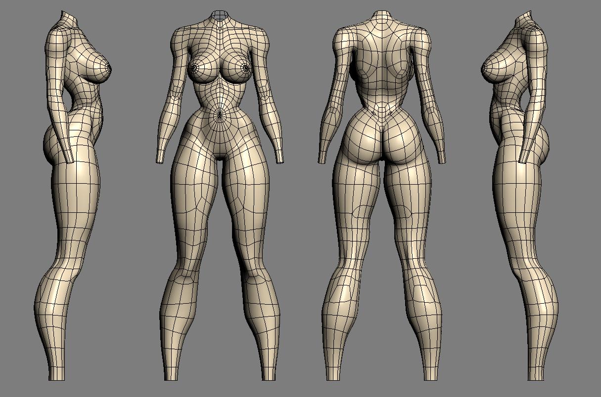 efectoq: referencias topológicas cuerpo femenino