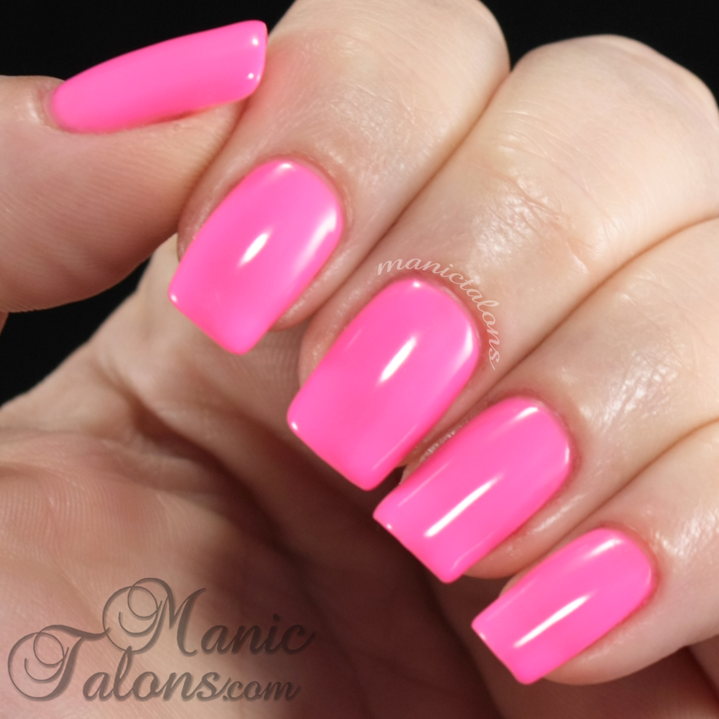 manic talons nail design: bright and fun colors from couture gel