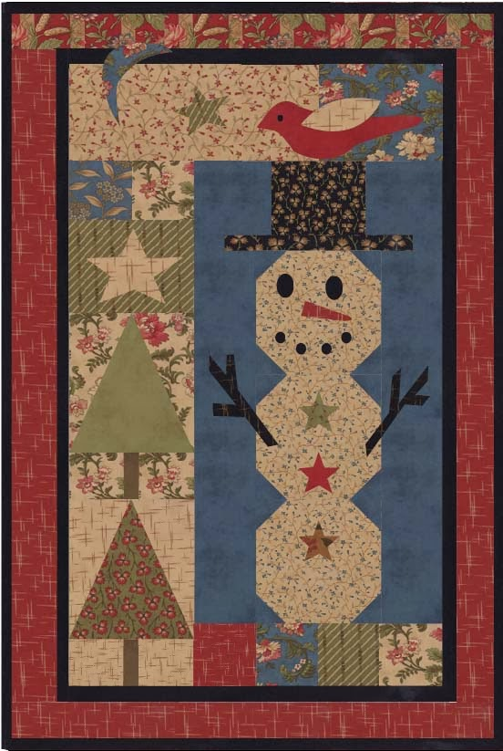 Snow Friend Wallhanging